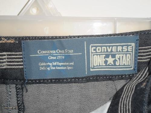 falda de mezclilla marca converse  maa.