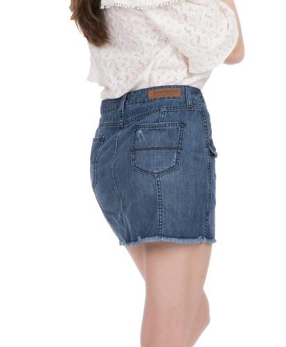 falda de mezclilla para dama. estilo 1271 innermotion