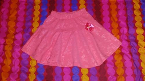 falda de niña, de algodón, talla 8, poco uso, s/20 soles