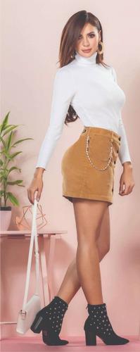 falda de pana leandru's para damas ref.: 866