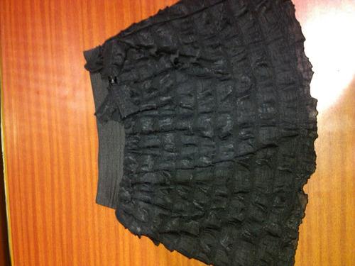 falda de remate marca zara