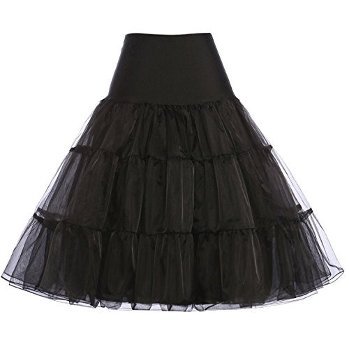 diseño de variedad venta barata del reino unido disponibilidad en el reino unido Falda De Vestir Vintage Swing Enagua Debajo De La Falda Para