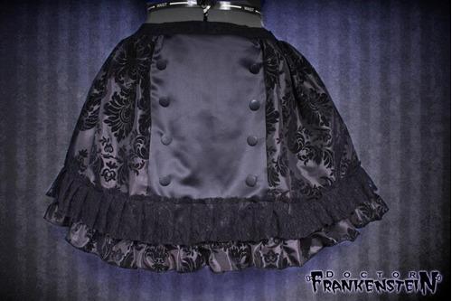 falda elegant gothic lolita ropa gotica dark monterrey