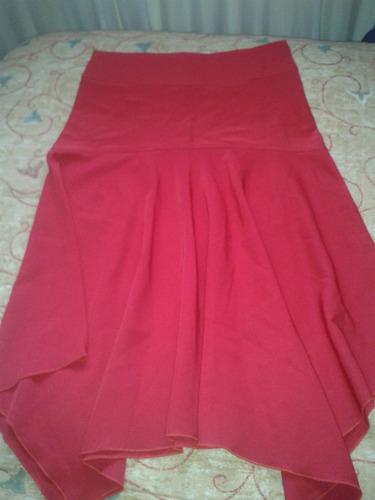 falda en puntas
