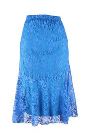dd5ff59ae7 Falda Azul Larga Unitalla Faldas Largas Mujer - Faldas Azul al mejor ...