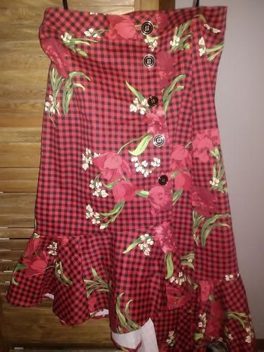falda estilo escoces marca ela