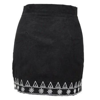falda etnica con bordados