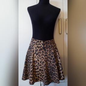 058665aa3 Falda Evase Animal Print 2 Usos Oferta Mujer Moda Belle Indu
