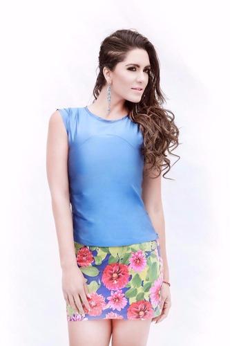 falda flower ropa de diseñador