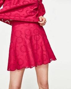 487e6eec4 Faldas Tableadas Cortas - Polleras Corta de Mujer Fucsia en Mercado ...