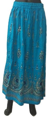falda hindú algodón varios colores