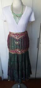 9e08618f0 Falda India Bordada Etnica Talla S Hindú