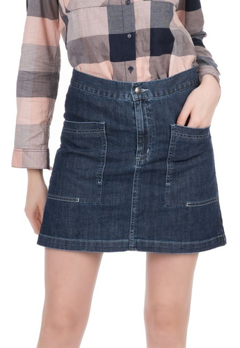 falda innermotion de mezclilla para damas 1272