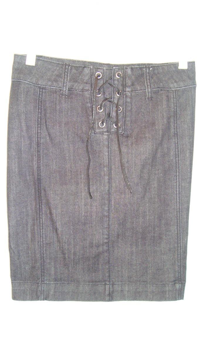 013ee69178d Falda Jeans Color Negro Para Dama Talla 26 Marca Guess - Bs. 9.000 ...