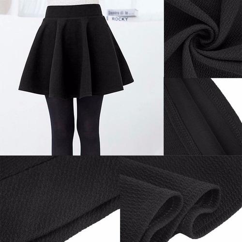 falda juvenil negra corta casual fiesta mujer  disponible