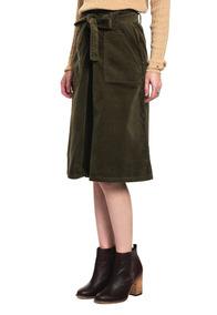 f2759da2b Falda Lara Midi Skirt - Tommy Hilfiger - 934037 - Verde