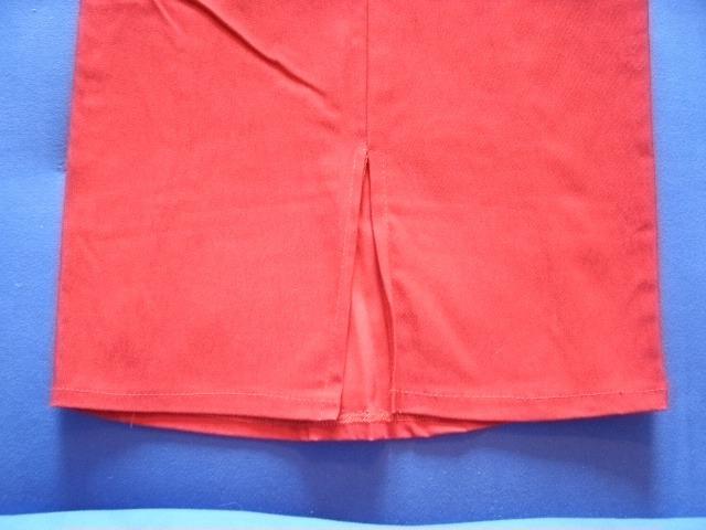 Falda Larga Dama - Rojo Strech Campana - Corte Tubo Nuevo. - Bs ... 49e48ed0221d