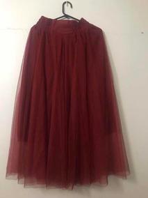 8bd906996 Falda De Tul Roja Mujer - Ropa