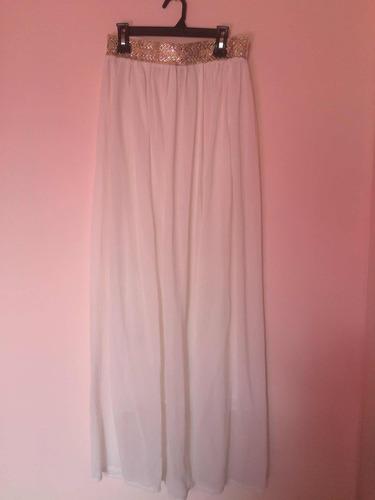 falda larga talla s/m