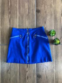 mitad de descuento gran venta compre los más vendidos Falda Mezclilla Verde Olivo, Negra, Azul Rey