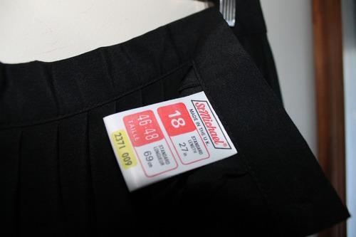 falda midi plizada acordeon st michael 44/46 envio gratis