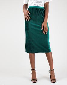 11617c371 Falda Verde - Faldas Mujer en Mercado Libre Colombia