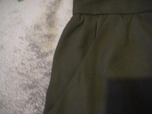 falda mini negra express talla 12 ( 306 )