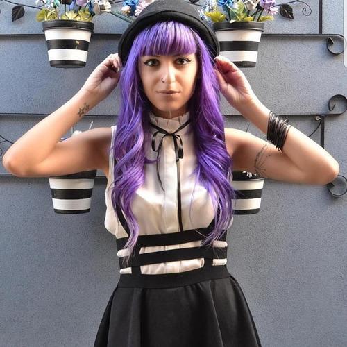 falda moderna con tirantes peto straps overol sexy envio gra