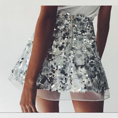 falda mujer juvenil corta fiesta coctel sexy  ocasión