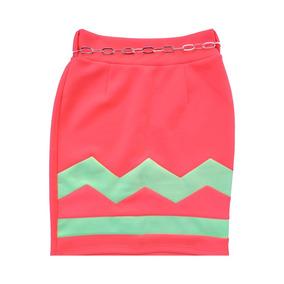 682799577 Faldas Semicirculares Corta - Faldas Naranja al mejor precio en ...