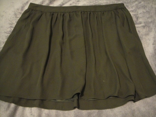 falda negra express talla 10 ( 306 )