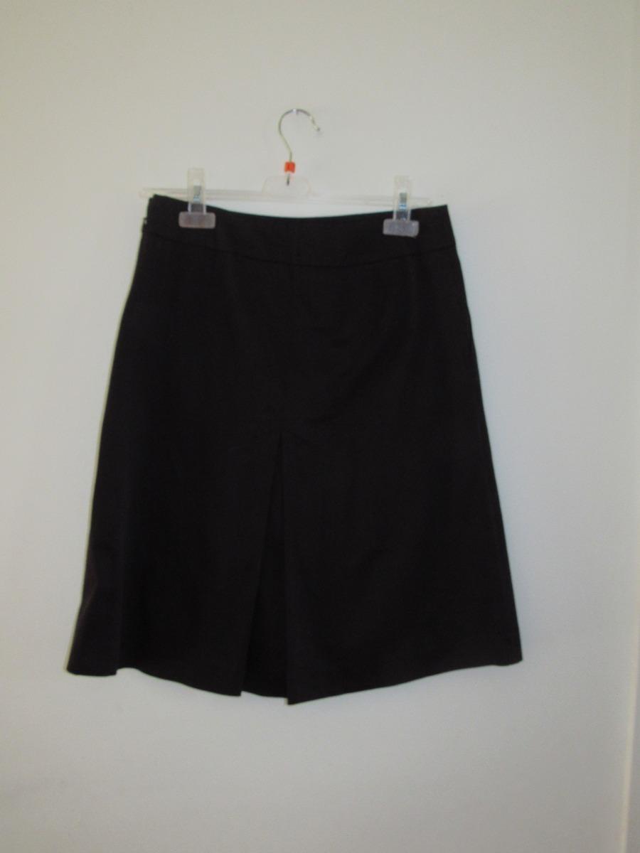 9cc9067a2 Falda Negra Mujer. Zara Basic 97% Algodón - $ 9.000