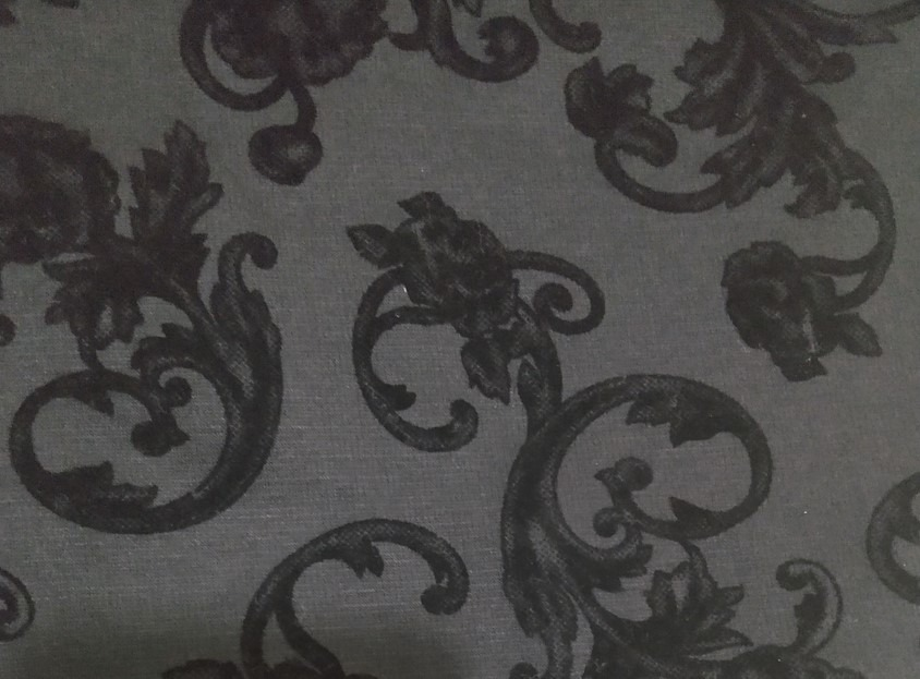8ed3044ab3 falda negra terciopelo flores talla s tipo lapiz garciamarie. Cargando zoom.