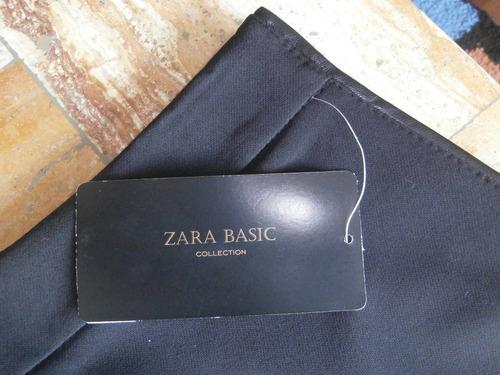 falda negra tubo zara / edición black especial