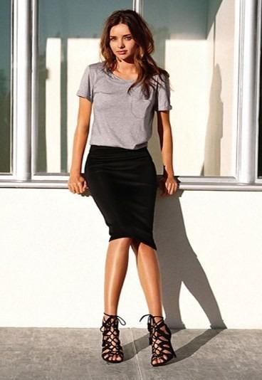 f8b176bde Falda Negra Zara