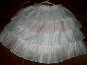 aa71c7d39 Falda Niña Olanes 6 Años Moda