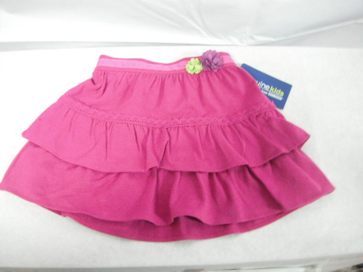 c41f9e1ab Falda Niña Rosa Genuine Kids By Oshkosh $230.00 Ndd