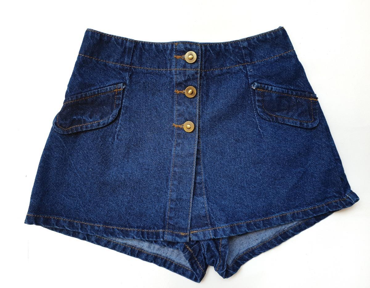 3353620d8b falda-pantalón en jean rígido de dama talle alto ref zafiro. Cargando zoom.