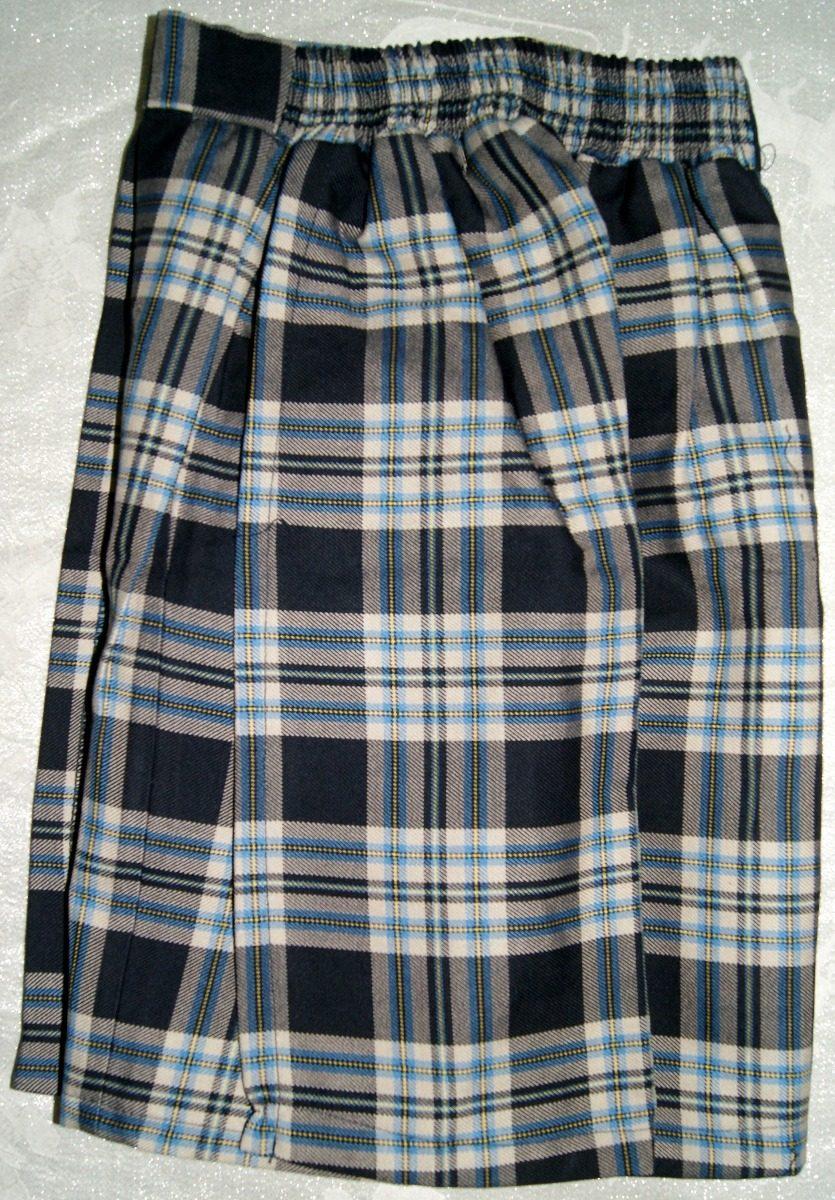 f878051a5fb9a Falda-pantalon Escolar Escocesa Talla 10 Niña Envio Incluido ...