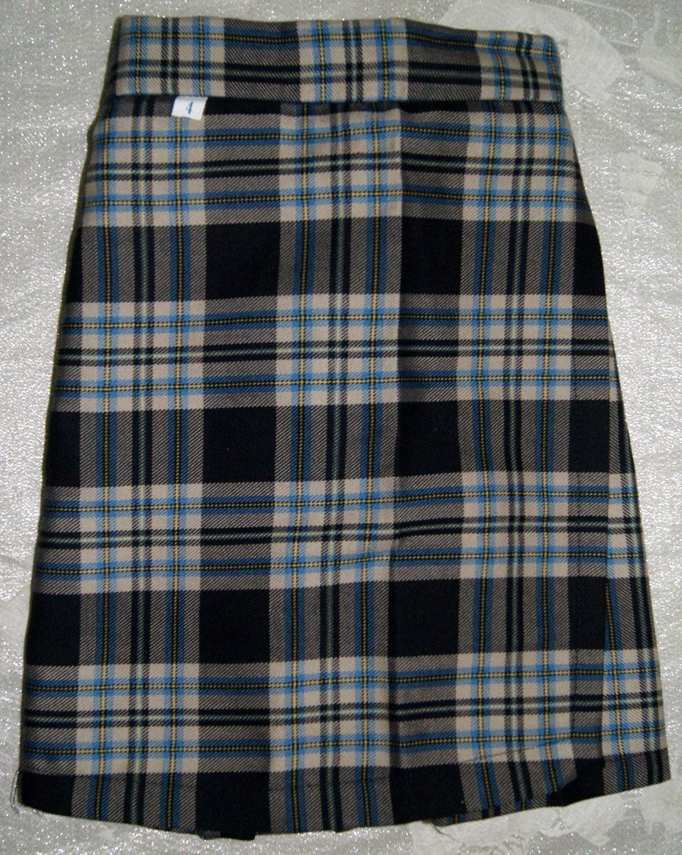 eebb3b83cf49c Falda-pantalon Escolar Escocesa Talla 4 Niña Envio Incluido ...