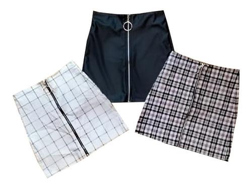 falda para dama corto diversos estilos pr.s