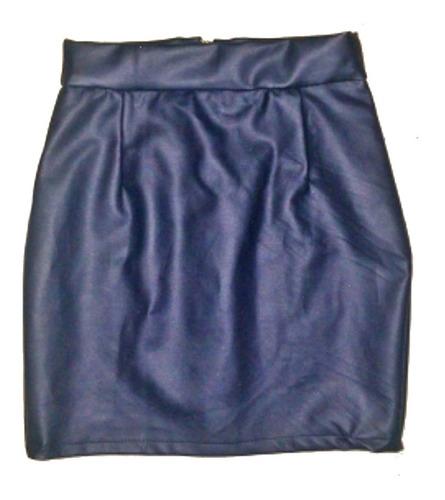 falda para dama en cuerina,  cuero sintetico