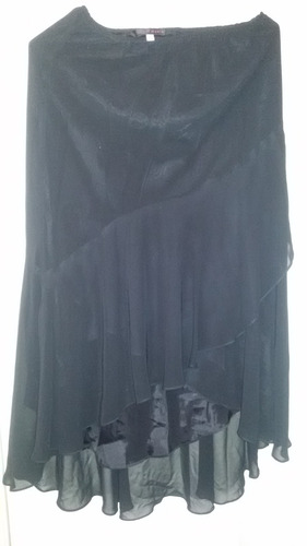 falda para dama en negro. talla 12