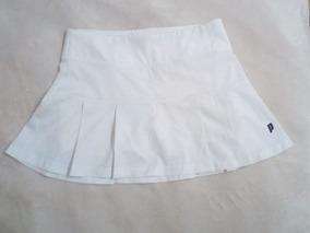 7dcc452b3 Falda Para Jugar Tennis 100% Original Marca Prince Blanca