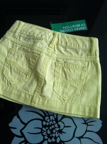 falda para niñas marca benetton