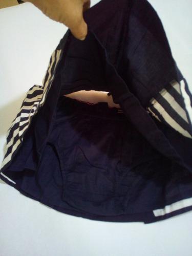 falda para niñas tommy hilfiger 100% original