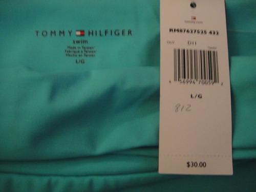 falda para pantalon de bano tommy hilfiger talla large ( 812
