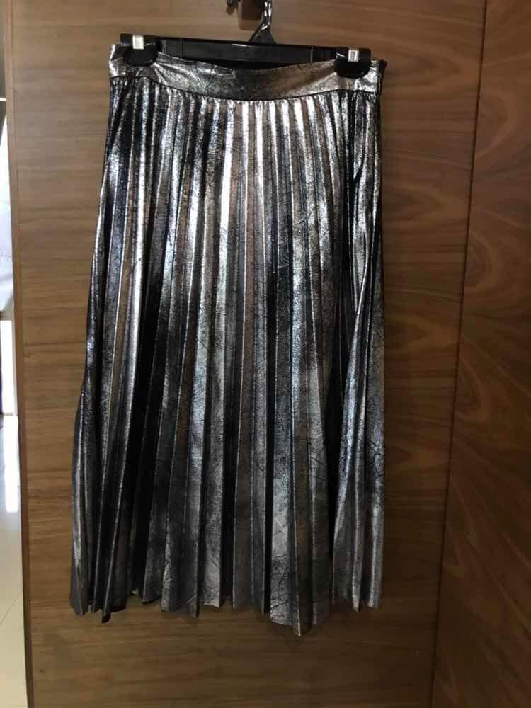 8387fae62 falda -plata-zara-talla-small-usado-D NQ NP 912407-MLM28775993605 112018-F.jpg