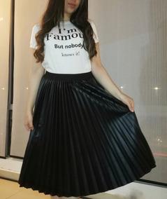 ee0bb072a Falda Plisada Larga Negra - Faldas Mujer en Bogota en Mercado Libre ...