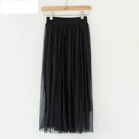 8a1295a73 Falda Tul Negra - Vestuario y Calzado en Mercado Libre Chile